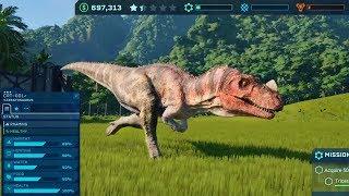 PLAYING JURASSIC WORLD EVOLUTION!!! - Jurassic World Evolution Gameplay!
