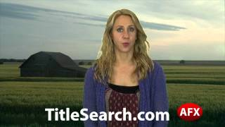Property title records in Greeley County Kansas | AFX