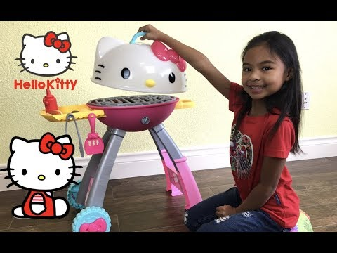 Hello Kitty Grill Set Unboxing | Toys Academy
