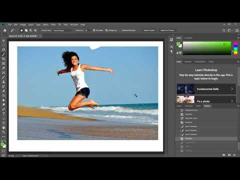 Hướng dẫn sử dụng Photoshop CC 2019 - Giao diện và các công cụ chỉnh sửa ảnh