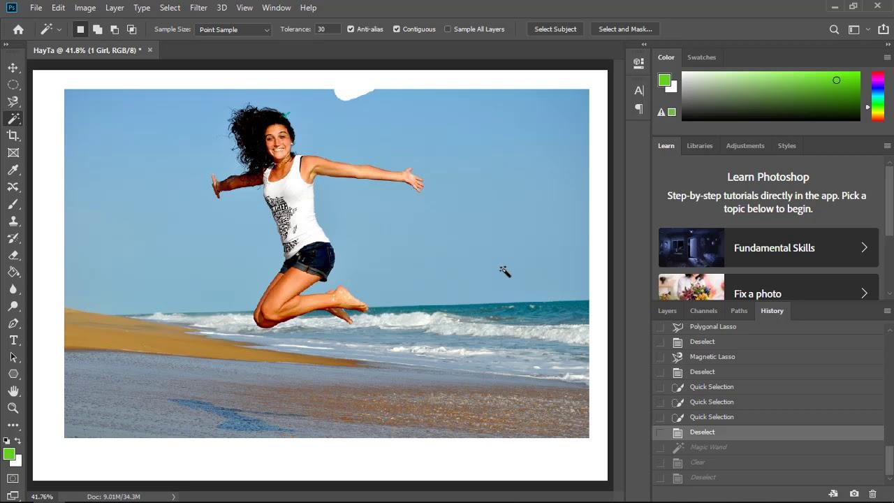 Hướng dẫn sử dụng Photoshop CC 2019 – Giao diện và các công cụ chỉnh sửa ảnh