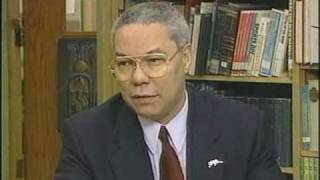 Colin Powell meets with BwB students (1998) -- part 1 thumbnail