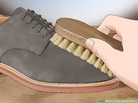 How to Dye Suede Shoes