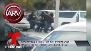 Secuestran a dos hijos adolescentes de conocido narco Al Rojo Vivo Telemundo