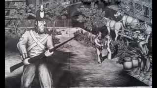 The Rum Rebellion (panorama drawing by James Kite)