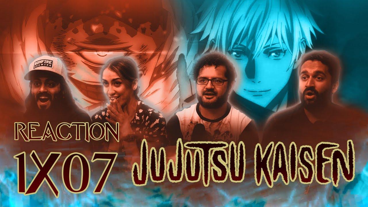 Download Jujutsu Kaisen - 1x7 Assault - Group Reaction