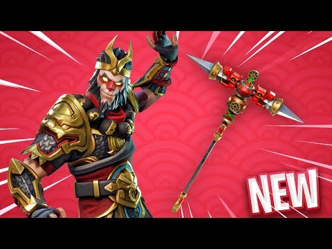 *NEW* LEGENDARY MONKEY KING SKIN..! - Fortnite: Battle Royale