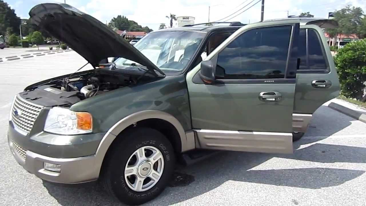Sold 2003 ford expedition eddie bauer meticulous motors inc florida for sale