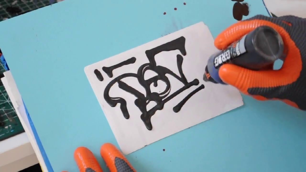 Grog Metalhead Test With Homemade Paint - YouTube