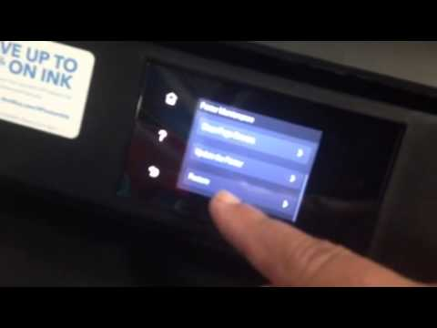 Hp envy 5660 reset to factory or change language options youtube