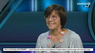 Telefriuli | Trasmissione Ore 7 del 31.08.2020  | ospite Claudia Baracchini