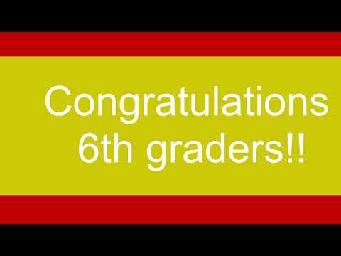 Nipomo Elementary School 6th Grade Promotion Ceremony