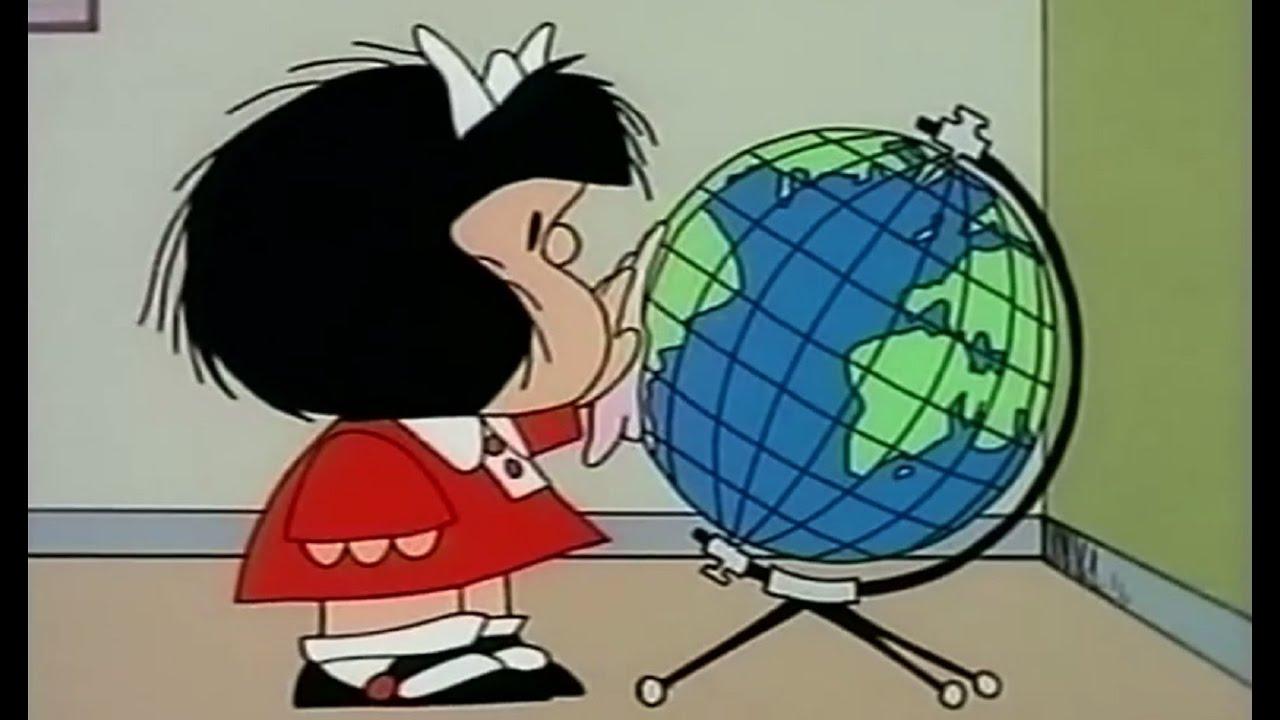 Mafalda Il Mappamondo Il Mondo Ammalato