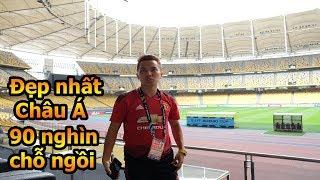 Thử Thách Bóng Đá Review SVĐ mà Công Phượng , Quang Hải và ĐT Việt Nam VS Malaysia AFF CUP 2018