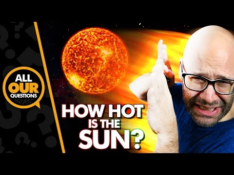How Hot Is The Sun?