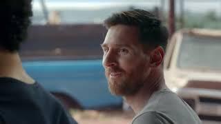 Месси и  Салах в рекламе Pepsi