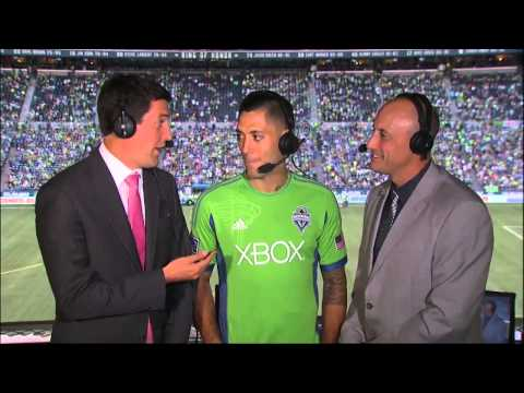 Clint Dempsey talks with Ross and Kasey