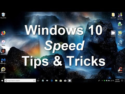 Speed up Windows 10 - Faster FPS Game Play, Faster Laptop Speed - Laptop Optimization Free & Easy
