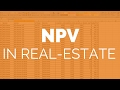 Real-Estate Investing Finance For Beginners: NPV (Net Present Value)