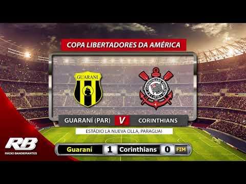 ?Libertadores Da América - Guaraní X Corinthians - 05/02/2020 - AO VIVO