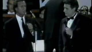 SOÑADORES DE ESPAÑA - JULIO IGLESIAS & PLACIDO DOMINGO - SEVILLA - 1989 -