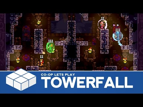 TowerFall Ascension - 4 Player Co-Op Gameplay