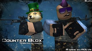 Counter Blox Roblox Offense Gameplay CBRO (w/ Chilly Emerald and BouncerBolt)