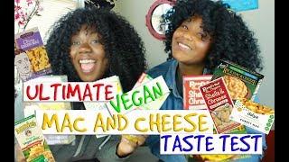 ULTIMATE VEGAN MAC AND CHEESE TASTE TEST!