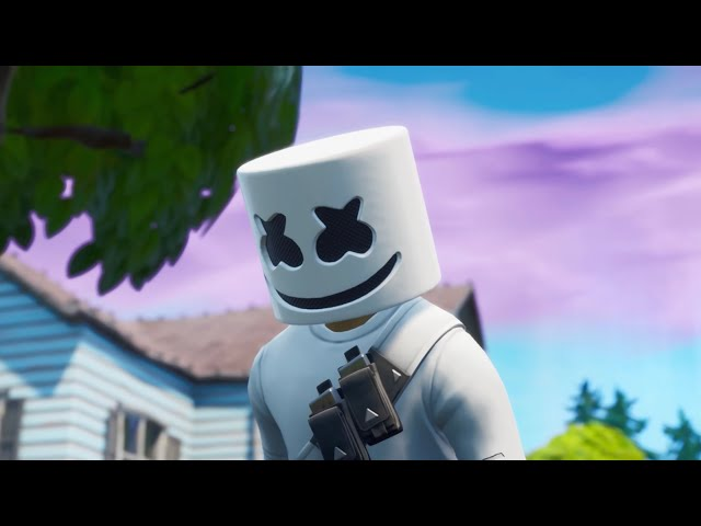 Marshmello - Alone (Fortnite Music Video)