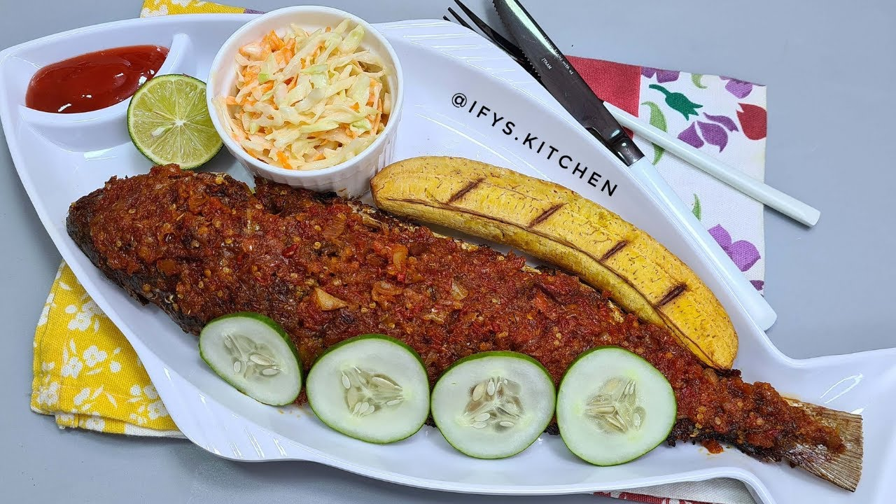 Download SUPER EASY OVEN BAKED FISH / OVEN ROASTED FISH/COOK WITH ME/GRILLED FISH/IFY'S KITCHEN