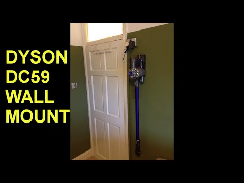 Dyson charging station wall mount
