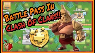 New update with New Hero Skins,Gold Pass and QoL Improvements | Clash of clans