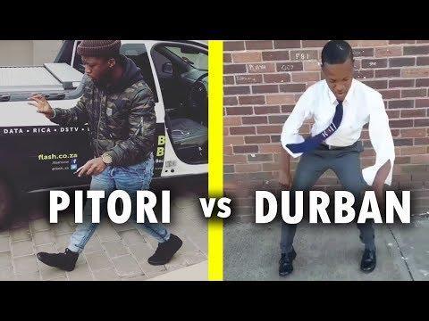 Pitori's Amapiano  vs Durban Gqom Dance