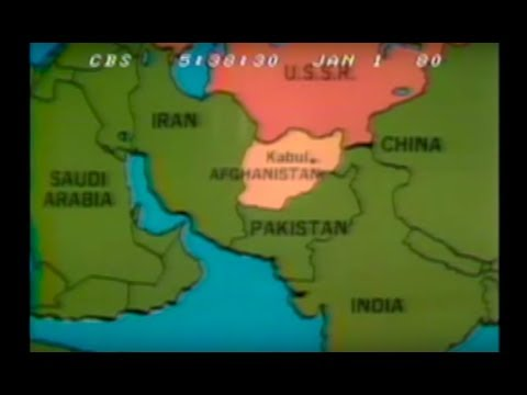 Soviet War in Afghanistan: The First Week - CBS Evening News - January 1, 1980