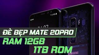 Tiếp tục là Galaxy S10 - RAM 12GB, 1 TB,