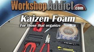 Organize your toolbox, drawers, camera case, gun case or anything. FastCap Kaizen Foam