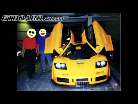 NEVER BEFORE SEEN Sultan of Brunei pictures Dauer 962, 959, McLaren F1, yellow F50, Ferrari FX