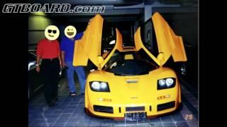 NEVER BEFORE SEEN Sultan of Brunei pictures Dauer 962, 959, McLaren F1, yellow F50, Ferrari FX