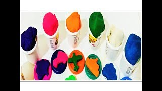 Play Learn Colors Make Kids Dough Clay Surprising .....