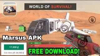 Marsus: Survival on Mars Free download - Thêm một game sinh tồn offline mới trên Android