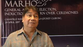 Past and present of horse racing | sandy javier
