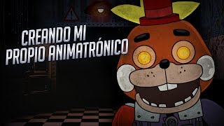 CREANDO MI PROPIO ANIMATRÓNICO | Animatronic Jumpscare Factory