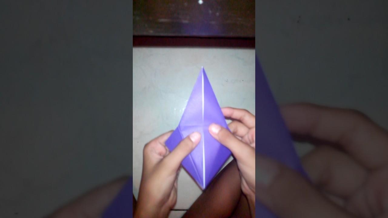 Origami Millennium Falcon (Shu Sugamata) - YouTube | 720x1280