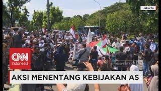 Protes Trump Soal Yerusalem, Massa Demo Kedubes AS