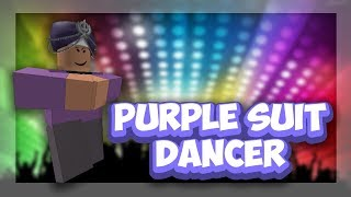 Roblox Script Showcase Episode#1073/Purple Suit Dancer