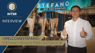 STEFANO SENSI | First Inter TV Interview | #WelcomeStefano! 🎙️⚫️🔵 [SUB ENG]