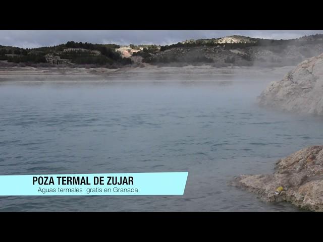 Video Poza termal de Zújar, Granada