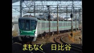 常磐線内は2016年6月19日収録。千代田線、小田急線内は2016...