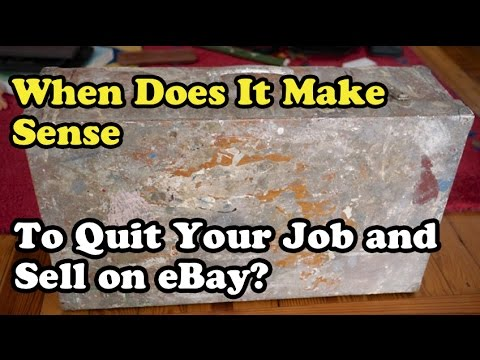 Scavenger Life 198: When Does it Make Sense to Quit Your Job to Sell on eBay Fulltime?