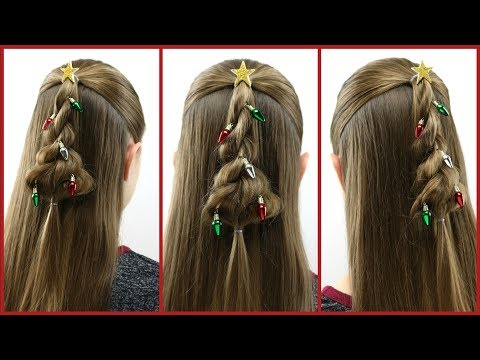 Twisted 🎄 Christmas Tree 🎄 Hairstyle | BabesInHairland.com thumbnail